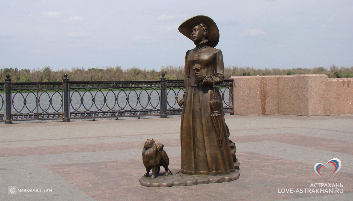 Ялта памятник дама с собачкой купить памятник в кемерово гродно
